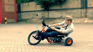 Motorised Drift Trike = FUN thumbnail