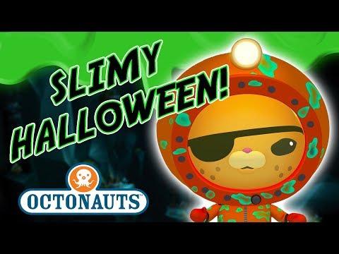 Octonauts - It's a Slimy Halloween! | Gross Town