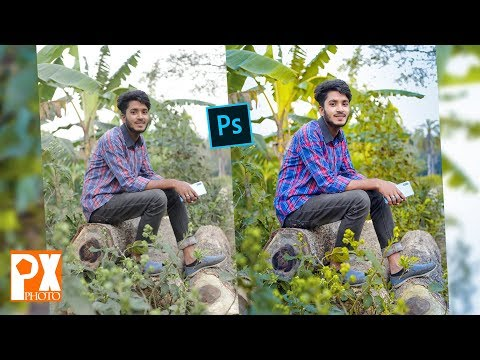 Retouching and Color effect Photo tutorial   Photoshop CC  by PhotoPx thumbnail