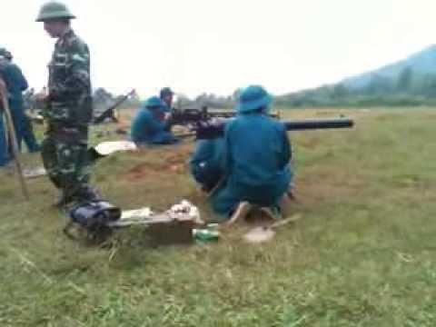 Huấn luyện 3 môn phối hợp DKZ . AK 47 . 12Ly7 Quận Long Biên .