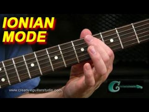 Guitar Lesson: The Major Scale - Ionian Mode