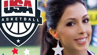USA Basketball - The Honda Center - The National Anthem (Roxy Darr)