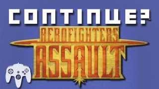 Aero Fighters Assault (N64) - Continue?
