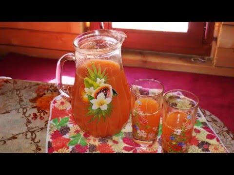 Морковный напиток от панкреатита