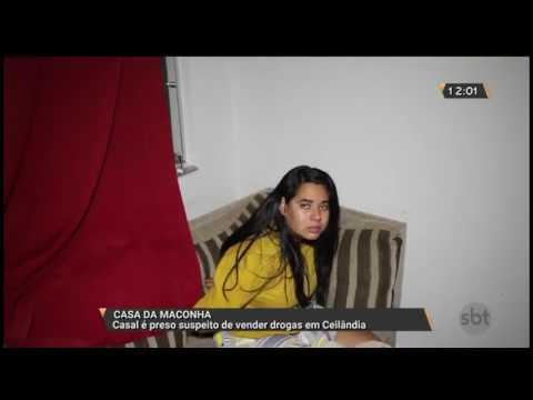 Casa da maconha: casal é preso suspeito de vender drogas em Ceilândia