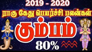 கும்பம் ராகு கேது பெயர்ச்சி பலன்கள் 2019 2020