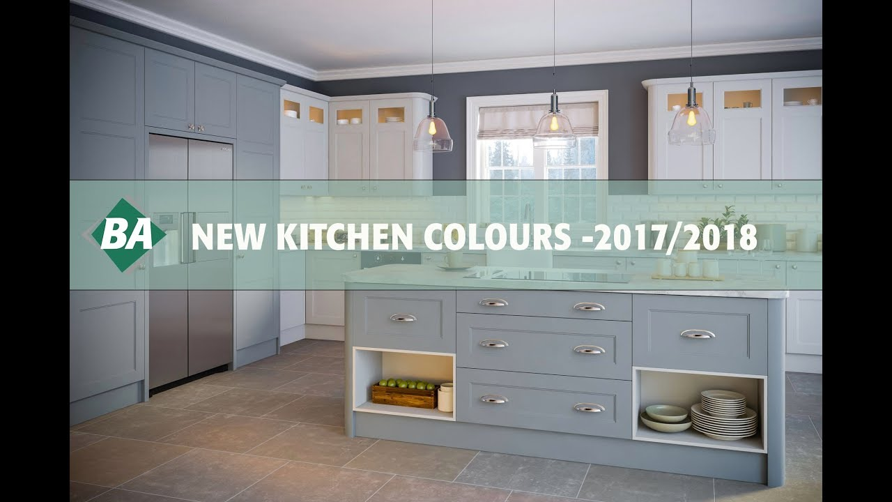 Kitchen Cupboard Colours 2018 New Kitchen Colours For 2017 2018