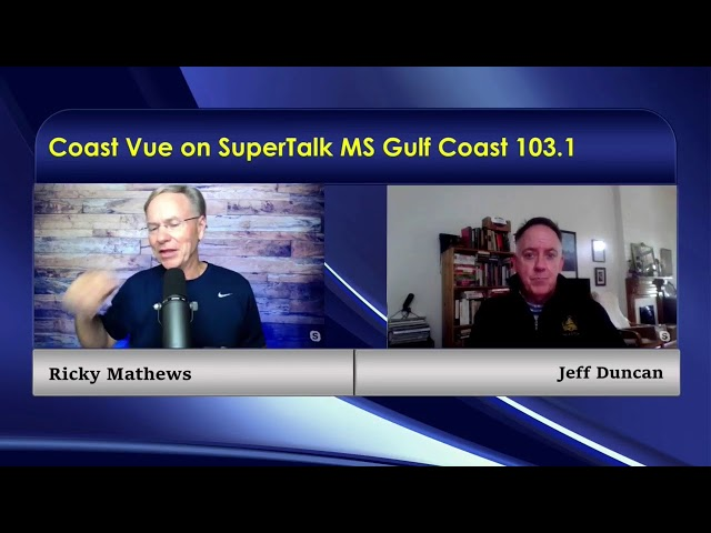 Dr. Nick Conger & Jeff Duncan check in to Coast Vue with Ricky Mathews.