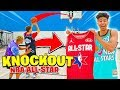 Win a Game of Knockout, I'll Buy You Any NBA ALL-STAR JERSEY!