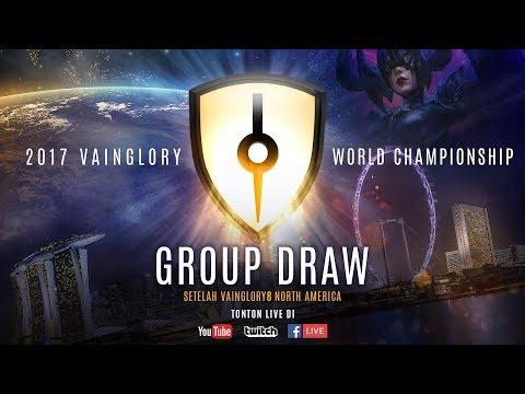 Vainglory8 World Championship Group Draw