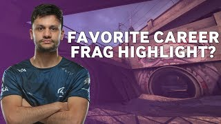 CS:GO Pros Answer: What is Your Favourite Career Frag Highlight?