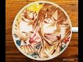 ラテアート【荒北靖友と福富寿一 】 ~ LatteArt【Yowamushi Pedal】