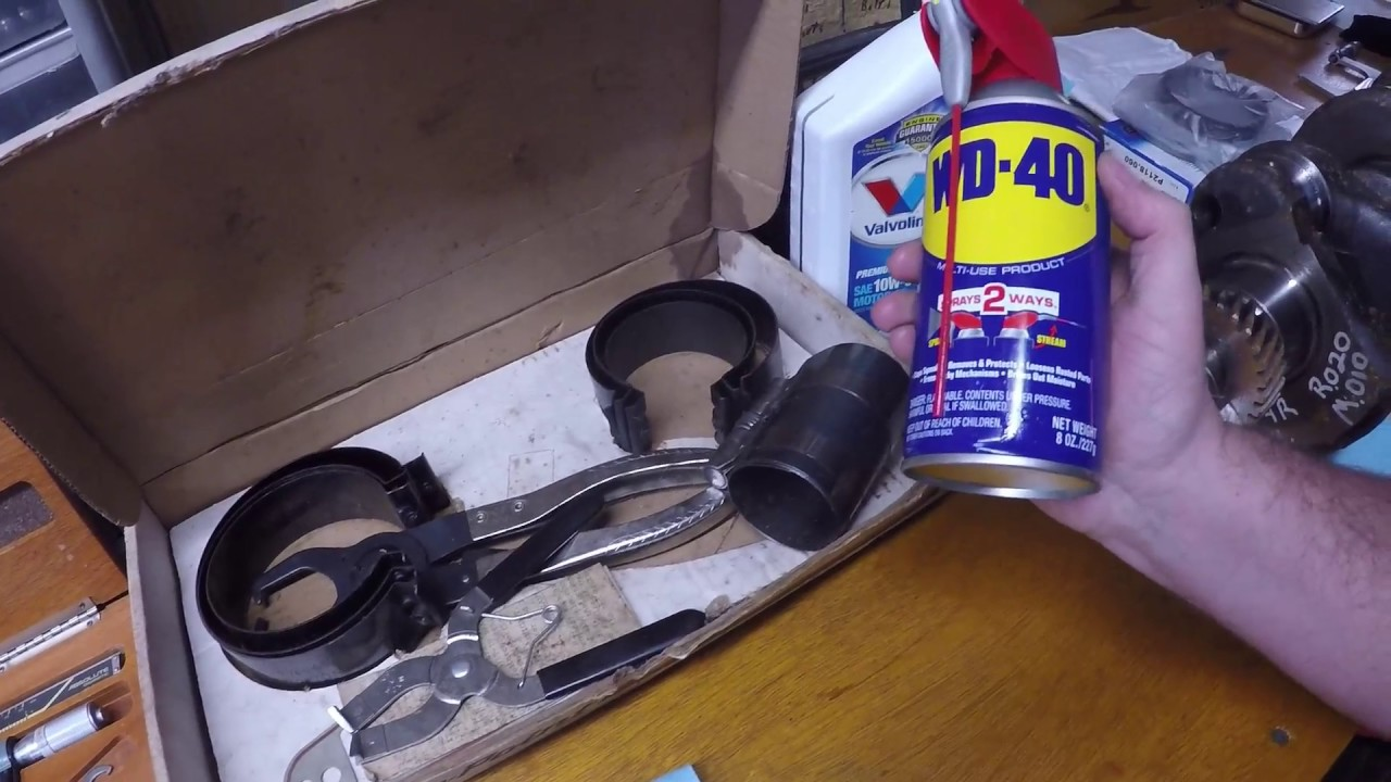 Chevy 235 Inline 6 Engine Rebuild Pt.1 - YouTube