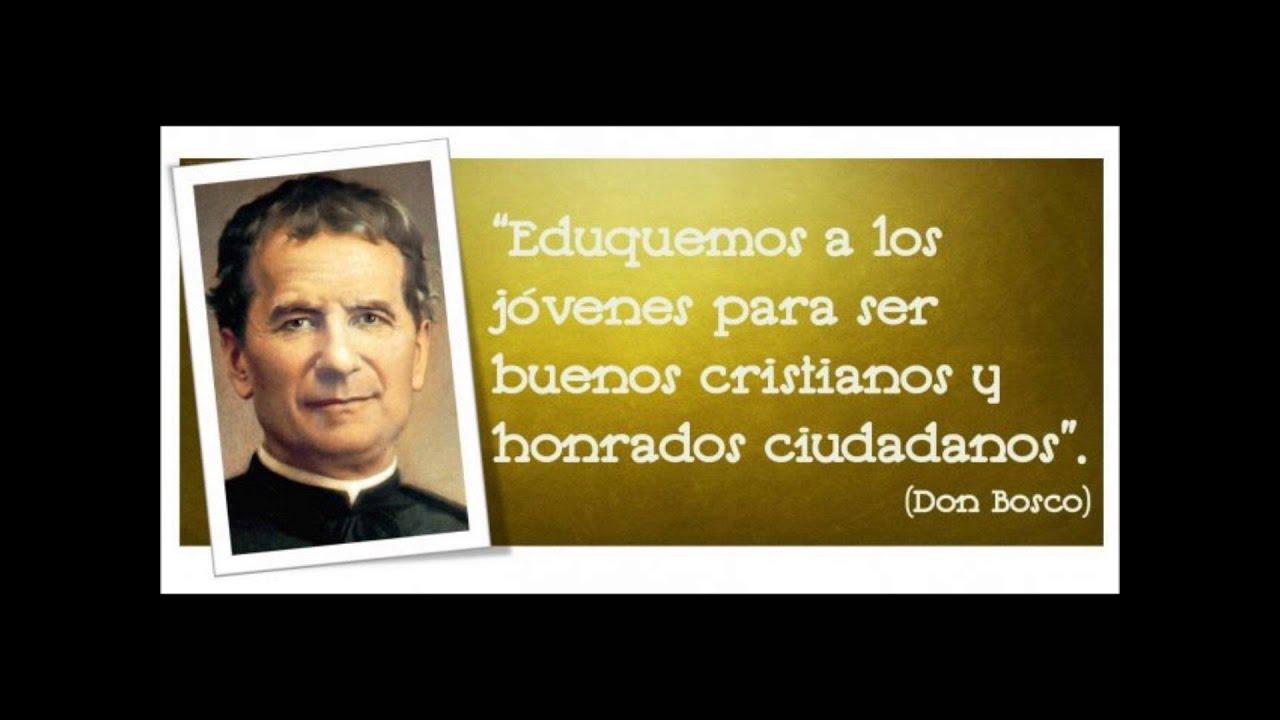 Frases De San Juan Bosco Para Jóvenes Niños Y Mucho Más