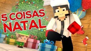 Minecraft Machinima: 5 COISAS QUE SEMPRE ACONTECEM NO NATAL!
