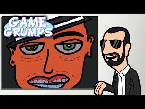 Game Grumps Animated - Ringo Starr's MSPaint Art - by LemonyFresh