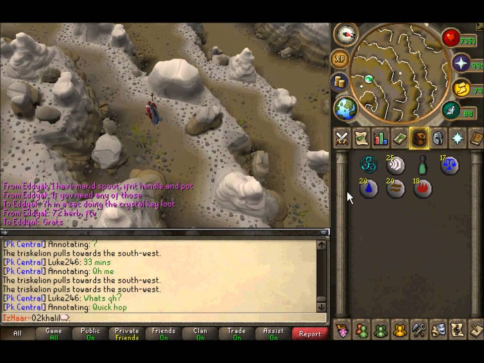 Crystal Triskelion Key Guide And Loot Youtube