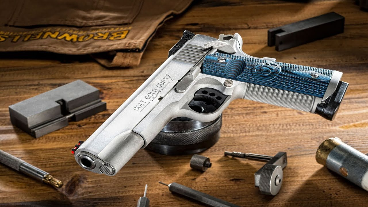 Colt 1911: A Review of the Features and Models of Colt 1911