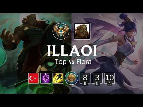 Illaoi Top vs Fiora - TR Challenger Patch 8.22