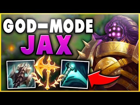 THIS JAX BUILD CAN 1V5 ENTIRE ENEMY TEAMS! SEASON 9 JAX TOP GAMEPLAY! - League of Legends