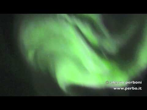 Northern Lights in Iceland, in REAL TIME!!!