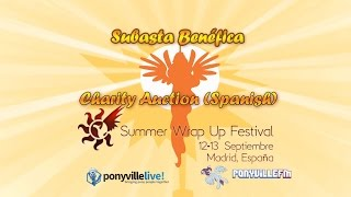 Summer Wrap Up 2015 - Subasta Benéfica (Charity Auction Spanish)