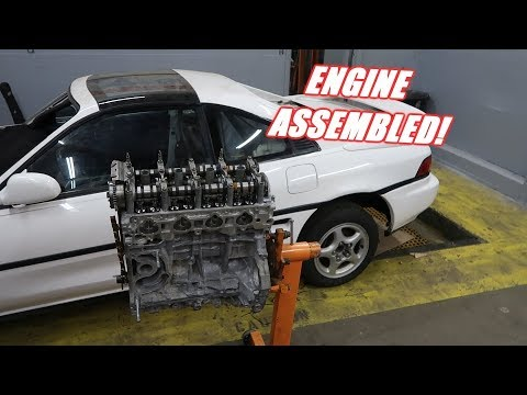 Assembling The Engine For the 1000Hp Mr2 Build!