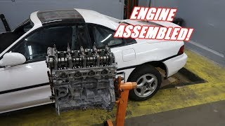 Download Assembling The Engine For the 1000Hp Mr2 Build! Mp3 and Videos