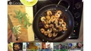 How To Cook Caribbean Cuisine S02e09 - St. Lucia Sangria Glazed Shrimp With Tropical Fruit