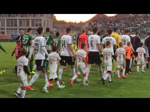 Nélküled-re vonultak be Sopronban a játékosok - Szombathelyi Swietelsky-Haladás - Ferencvárosi TC