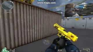 Gold Desert Eagle Gameplay in Crossfire