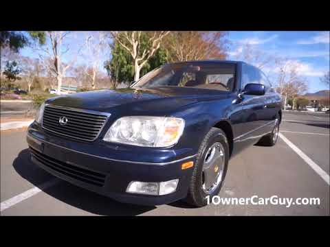 For Sale 1999 Lexus LS400 Luxury Sedan Exterior Used Car Video Review