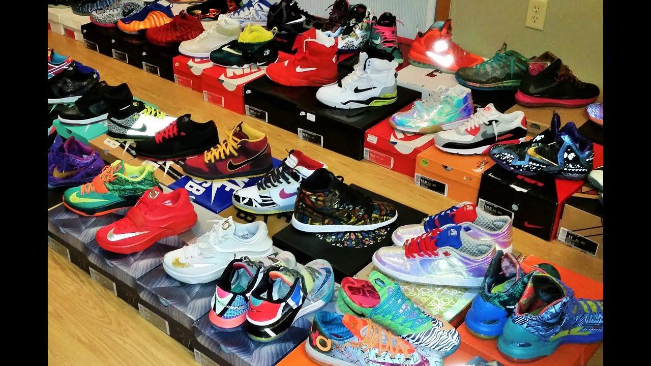 Jordans Wallpaper For Girls My 150 Pairs Sneaker Shoe Collection 2015 Nike Foamposite