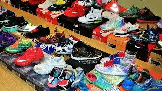 MY 150+ PAIRS SNEAKER/SHOE COLLECTION 2015 NIKE FOAMPOSITE AIR JORDAN KD KOBE LEBRON SB YEEZY HEAT!