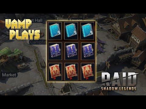 RAID: Shadow Legends | Skill Tomes | Vamp Plays