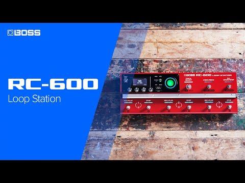 BOSS RC-600 Loop Station – Next-Generation floor-based Looper Pedal