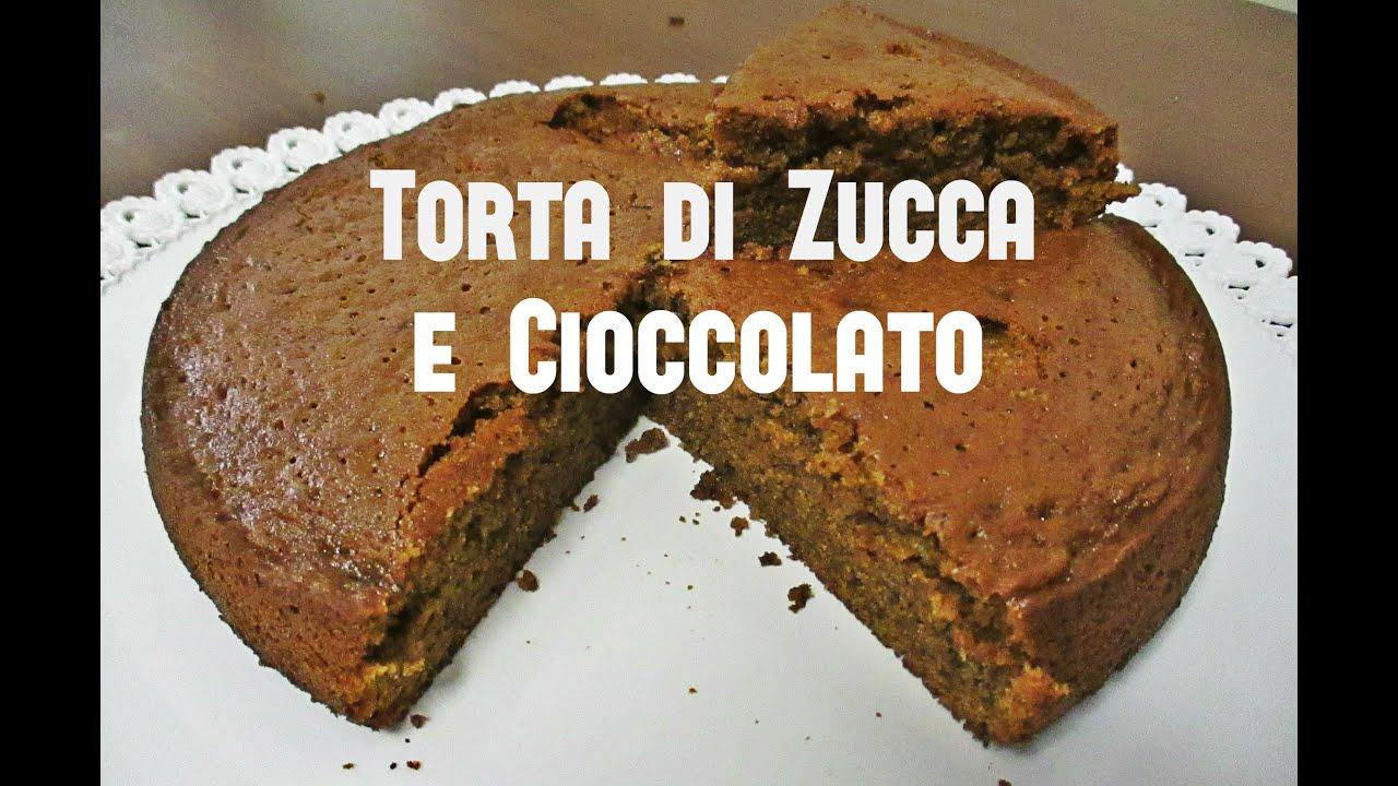Torta di Zucca e Cioccolato Bimby TM5  YouTube