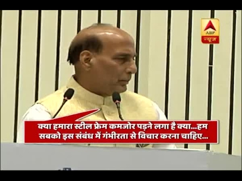 Delhi: Rajnath Singh lashes out at Science centre officers for delay in programme