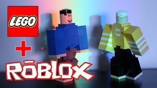 ROBLOX ROBLOXIAN Action Figure faite avec LEGO - Comment faire un ROBLOXIAN