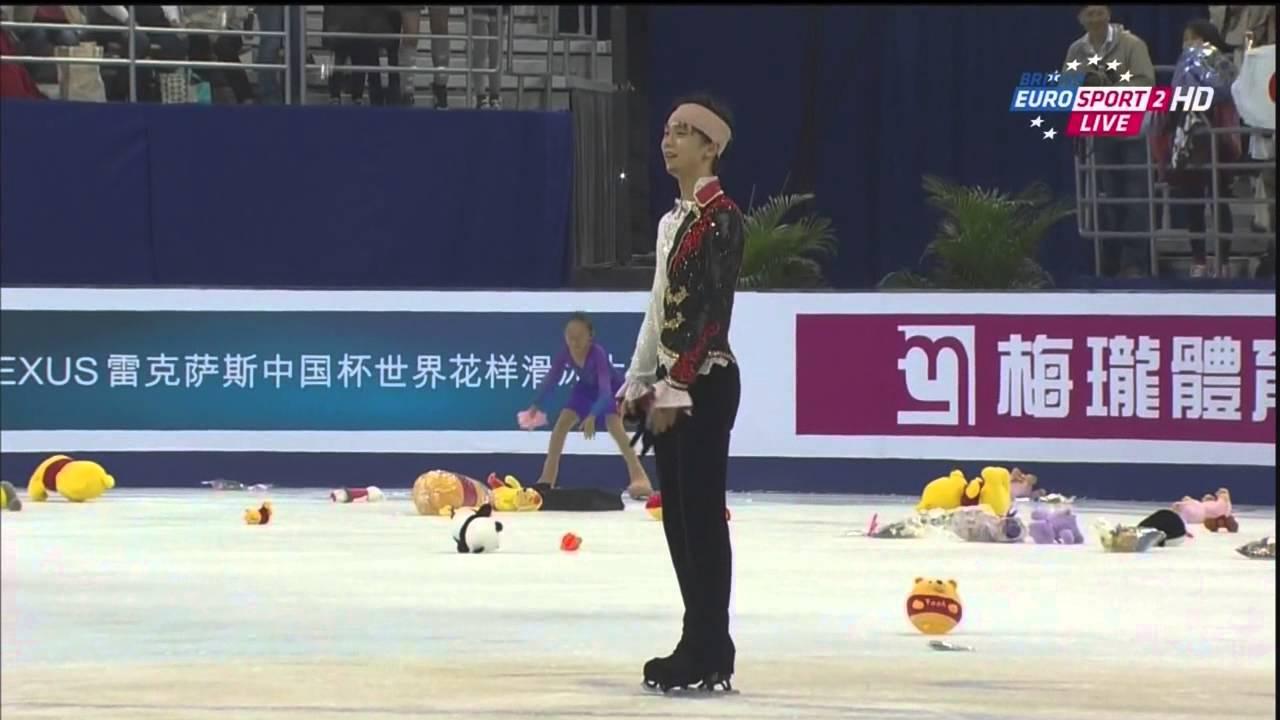 羽生結弦選手2014中国杯FS、B・...