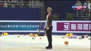羽生結弦選手2014中国杯FS、B・ユーロ解説翻訳