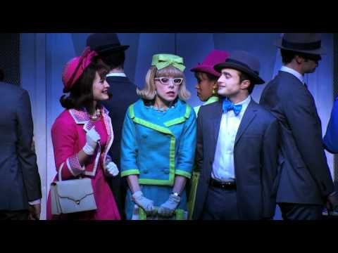"""Mary Faber Has A """"Long Day"""" with Daniel Radcliffe in HOW TO SUCCEED"""