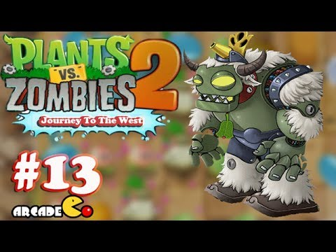 Plants Zombies 2: Journey To The West - New Zomboss (Bull Demon ...