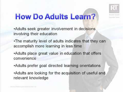 Were integrated learning adult learning styles