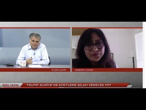 Trump Suriye'de Kürtlere silah verecek mi? Amberin Zaman ile söyleşi