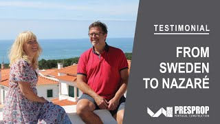 🇸🇪 Testimonial - Swedish clients in Silver Coast, Portugal