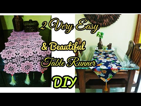 10-minute-table-runner,-table-runner-diy,-easy-decor-guide-for-the-beginners,-best-out-of-waste,-diy