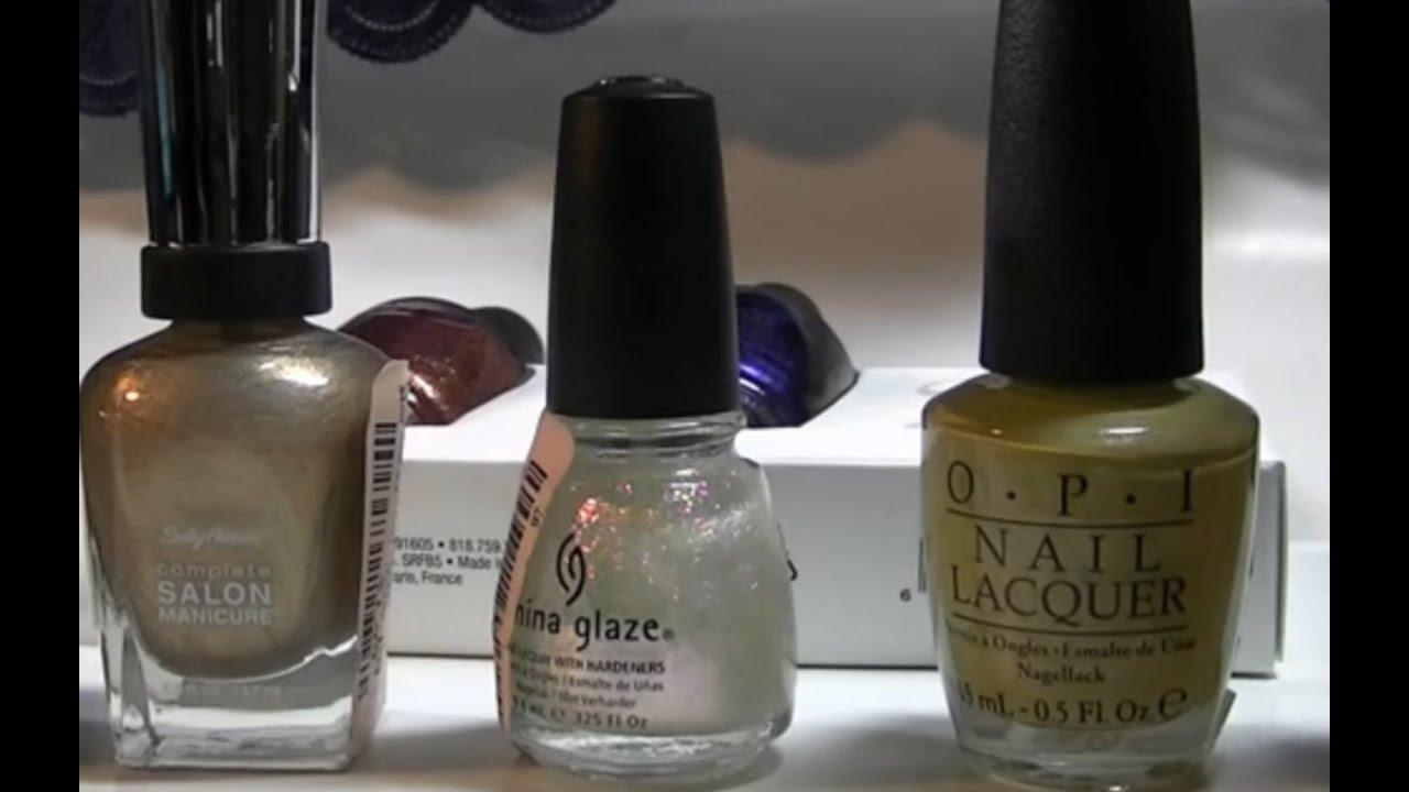 T.J. Maxx Nail Polish Haul O.P.I. and China Glaze Low Prices - YouTube