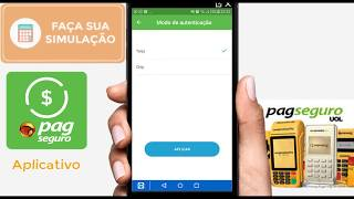 Simulação Aplicativo PagSeguro | App PagSeguro