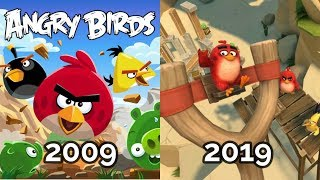 Evolution Of Angry Birds Games 2009  -  2019